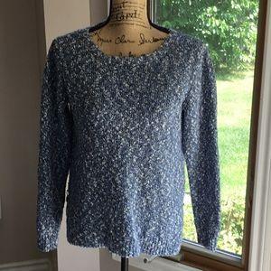 Buffalo Blue and White Sweater